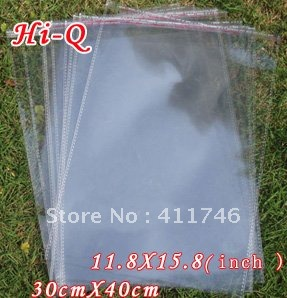 200pcs High Quality Professional packaging plastic bag 30 x 40 cm 11.8 x 15.8 inches(China (Mainland))