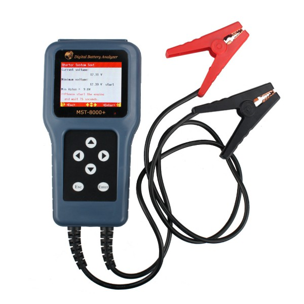 Dhl быстрая доставка MST 8000 автомобильное MST-8000 + батарея цифровой анализатор MST8000