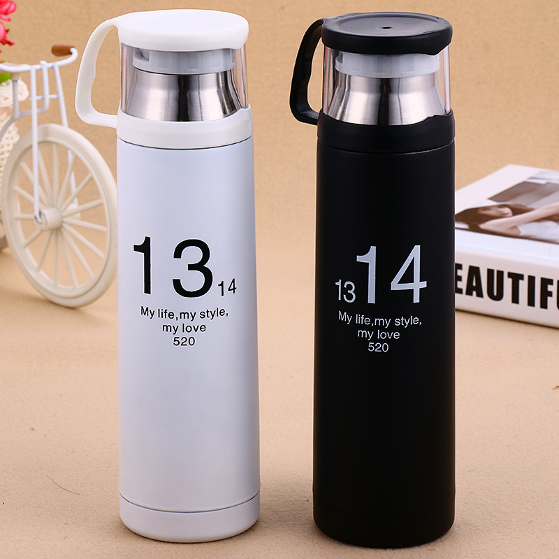 500ml Stainless Steel Auto Cup Small Thermos Vacuum Flask BottleTravel Coffee Mug Mini Hot Cold Water Garrafa(China (Mainland))
