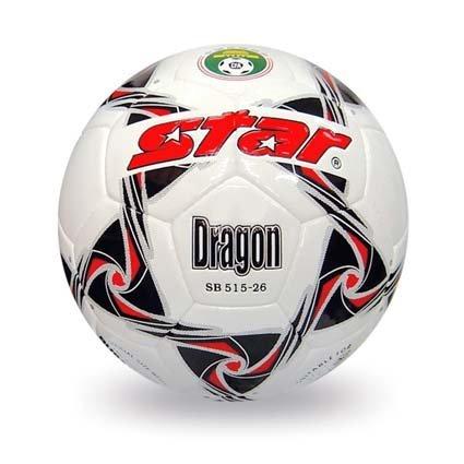 Free shipping! High quality Match use Star Soccer Ball/Football Size 5 SB515-26 DRAGON Gift: gas pin & net bag
