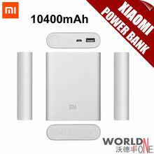 Discount Price! 100% Original Xiaomi Power Bank 10400mAh Xiaomi 10400 External Battery Pack Portable Charger Mobile Powerbank(China (Mainland))