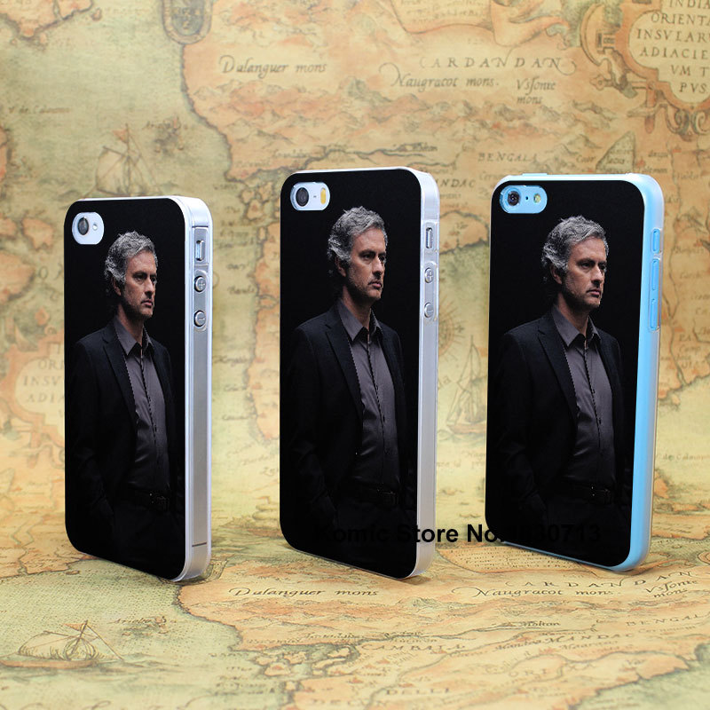 jose mourinho chelsea coach sports soccer Design hard transparent clear Skin Cover Case for iPhone 4 4s 4g 5 5s 5g 5c(China (Mainland))