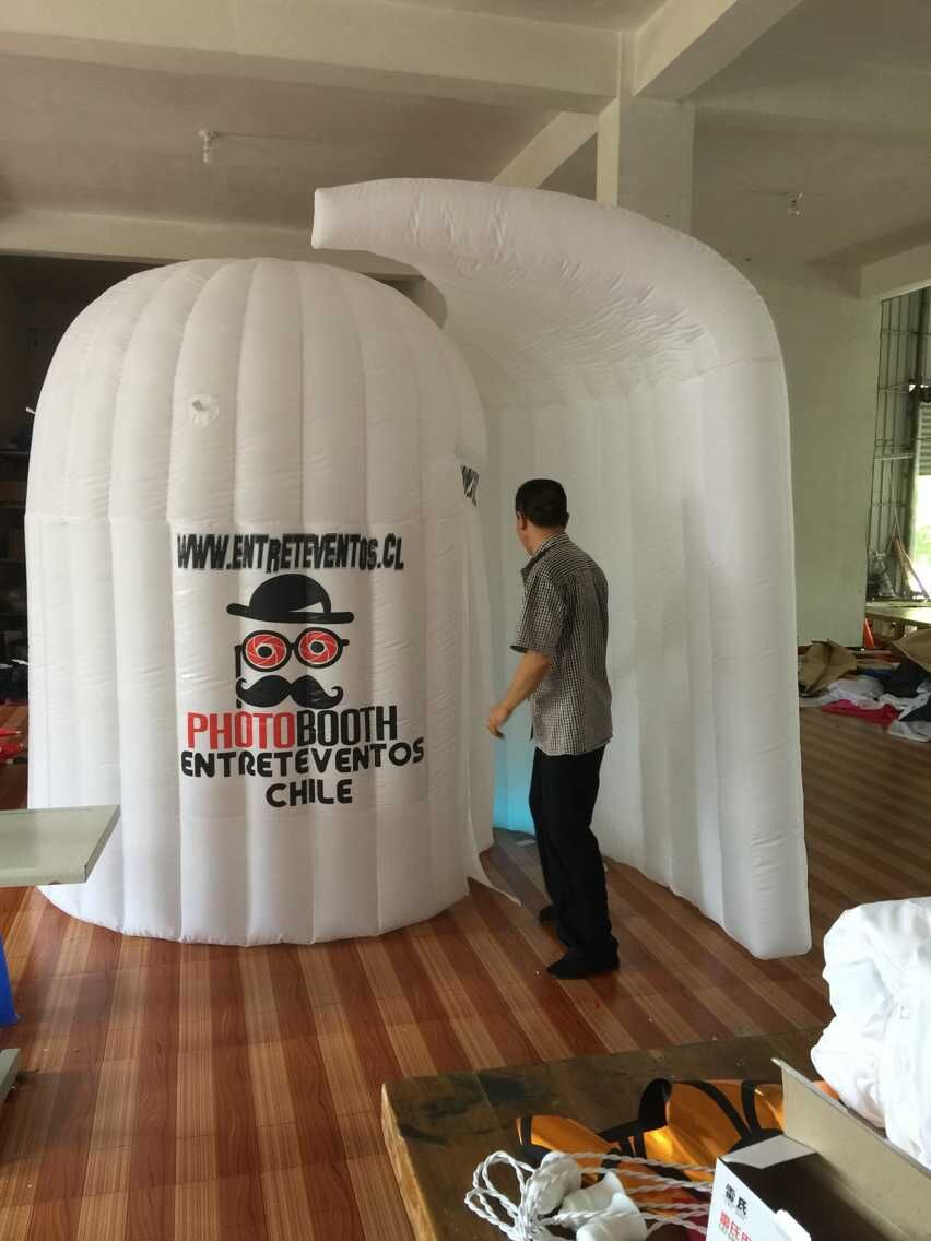 Free shipping popular oxford material inflatable dome photo booth portable(China (Mainland))