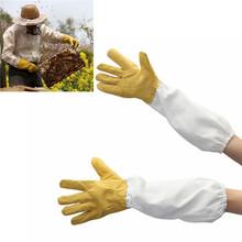 A Pair of Protective Beekeeping Gloves Goatskin Bee Keeping Vented Long Sleeves Beekeeping Tools The Beekeeper Prevent Tools