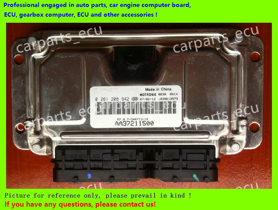 For Hafei car engine computer board/ECU/ Electronic Control Unit/Car PC/ 0261208942/AA37211500 /driving computer(China (Mainland))