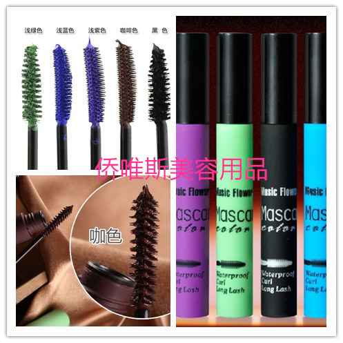 Japanese Cosplay Music Flower Brand Makeup Mascara Volume Express False Eyelashes Make Waterproof Cosmetics Eyes - Alice Jiang store