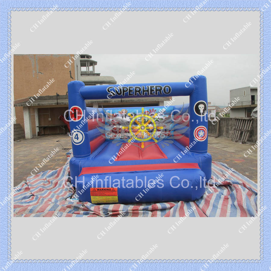 2015 HOT Superhero Inflatable Jumping Castle/Commercial Inflatable jumping Bouncer for you(China (Mainland))