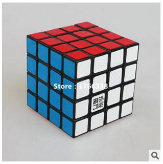 Wing Chun neocube Speed Matte Stickers 4x4x4 Magic Cube Puzzles Game Magico Cubo 4x4 ShengSu(China (Mainland))