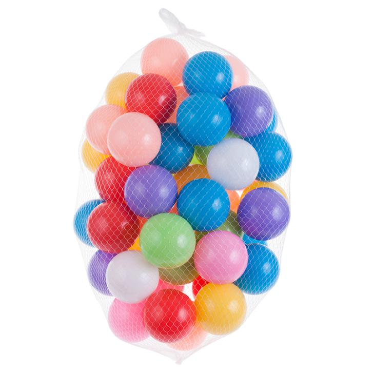 50Pcs/lot 7cm Ocean Ball Colorful Soft Plastic Tent Water Pool Ocean Wave Ball Baby Funny Toys Outdoor Beach Ball(China (Mainland))