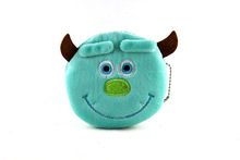 Character Cute Style Novelty IIem Zipper Kawaii Children Cartoon Bag Women Wallets Mini Change Plush Coin