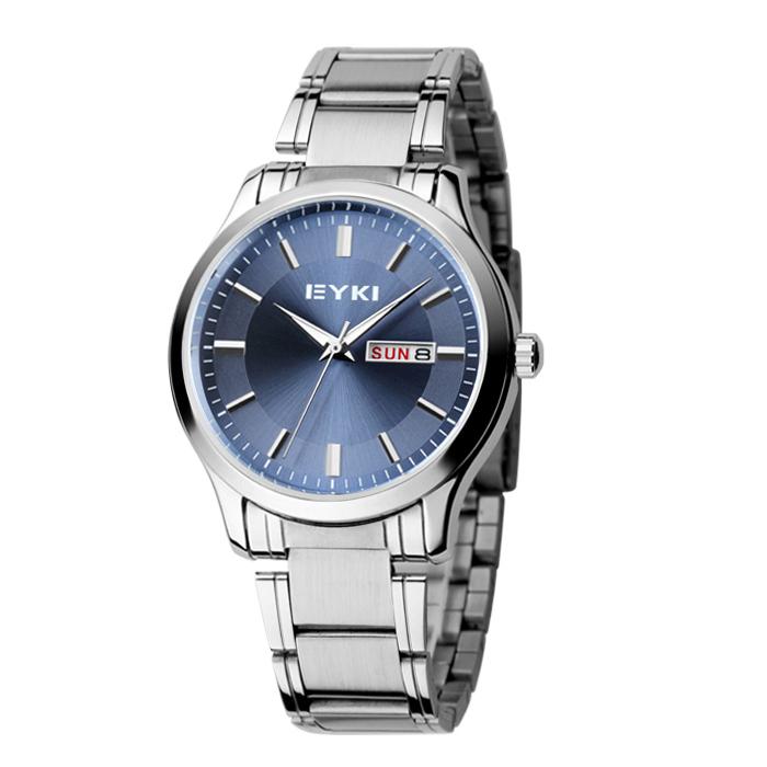 2015 Hot sale! New style EYKI men watches fashion waterproof calendar wristwatches(China (Mainland))