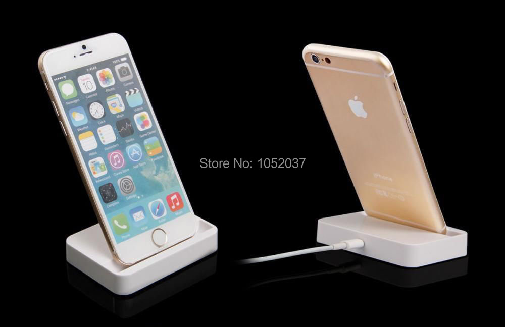 New Desktop Dock Charger Docking Station Cradle Stand Adapter Socle Charging Converter For iPhone 5 5C