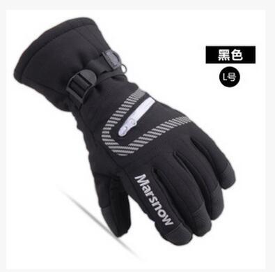 Fashion Winter Waterproof head ski gloves Women Men Snowmobile Gloves Snowboard Sport Gloves Guantes(China (Mainland))