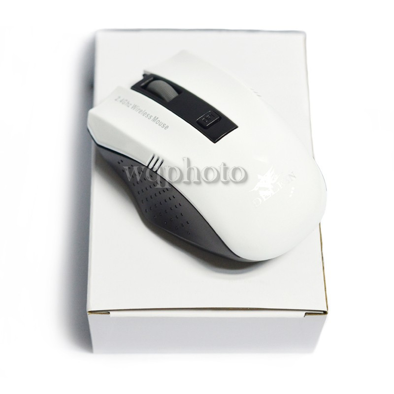 2016 New Rechargeable USB Wireless Mouse white noiseless Optical Mouse for Laptop Computer Mice