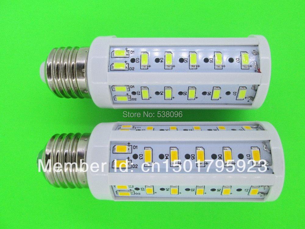NEW! E27 50 SMD 5730 15W Corn Lamp LED 15W Energy Saving Light Lamp Bulb 110V/220V ( Free delivery / warranty 2 years )(China (Mainland))