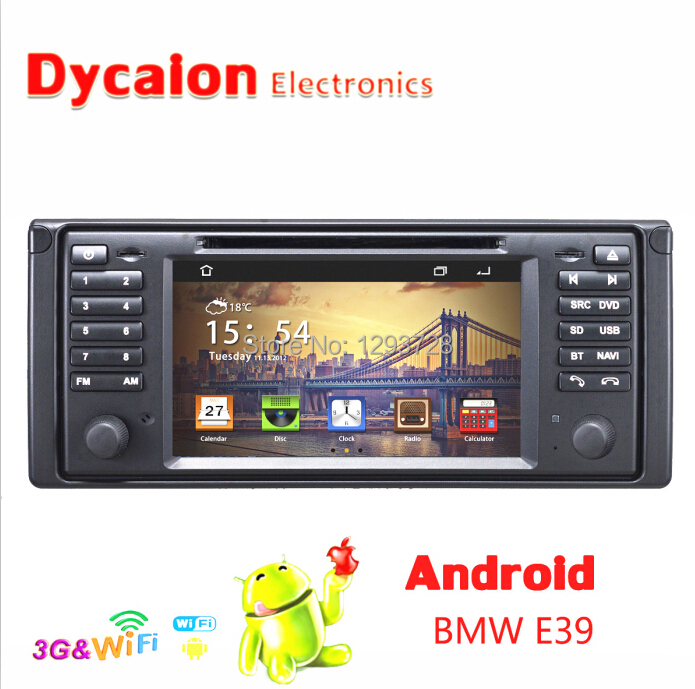 7 inch Pure Android 4.2 Car DVD GPS Navigation/For BMW e39 android/Touch screen CD Video CD Mp3 Mp4 JPEG(China (Mainland))