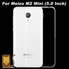 Meizu м2 мини чехол 0.6 мм ультратонкий прозрачный тпу мягкая обложка защитный чехол для Meizu м2 мини