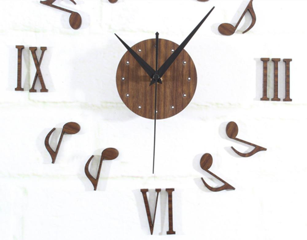 Orologi da parete musicali for Orologi da parete adesivi