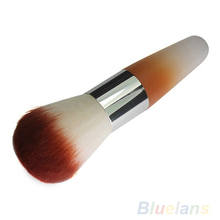Pro Beauty Kabuki Blusher Brush Foundation Face Eye Powder Cosmetic Makeup Brush 02RI 3H7C