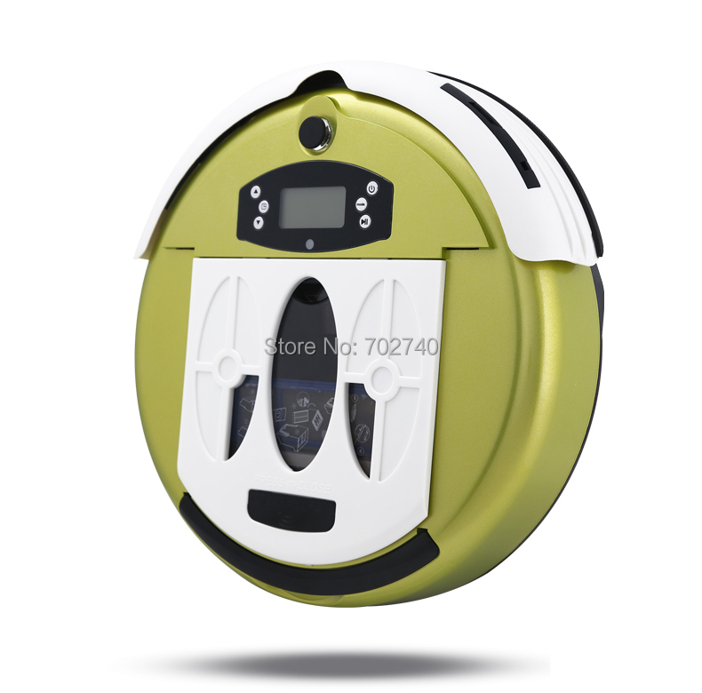 2015 Brand New Automatic Robot Vacuum Cleaner Household Sweeper Intelligent Vacuum Cleaner Free shipping(China (Mainland))