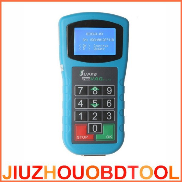 DHL FastShipping 2015 New Super VAG K+CAN Plus 2.0 OBD2 Code Reader Super VAG K CAN Plus 2.0 Key Programmer Odometer Correction(China (Mainland))