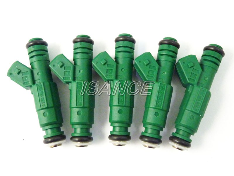 ISANCE 5Pcs Flow Matched Fuel Injector 0280155968 0280155968 For Audi BMW Chrysler Dodge Ford Mitsubishi Plymouth VW Lancia(China (Mainland))