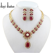 Free shipping gold necklace earrings set with a 18K jewelry set suit jewelry necklace, African women. bridal jewelry set(China (Mainland))