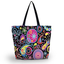 2016 Foldable Shopping Bag Women Shopping Bag Shoulder Bag Lady Handbag Pouch Zipper Closure Pocket Shopping Tote SB-2972(China (Mainland))