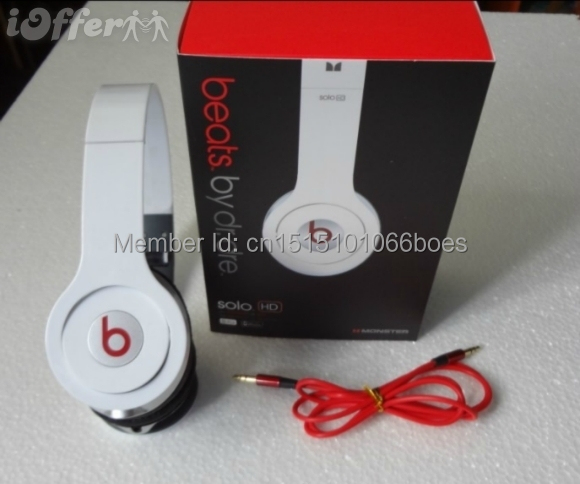 Factory Sealed free shipping Hot sell brand solo headsets beateds by dre solo hd headphones headset all show real picture(China (Mainland))