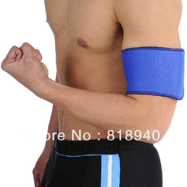 Upper Arm Brace Bicep Support Sports Band Neoprene Guard Basketball Professional Protection Injury New(China (Mainland))