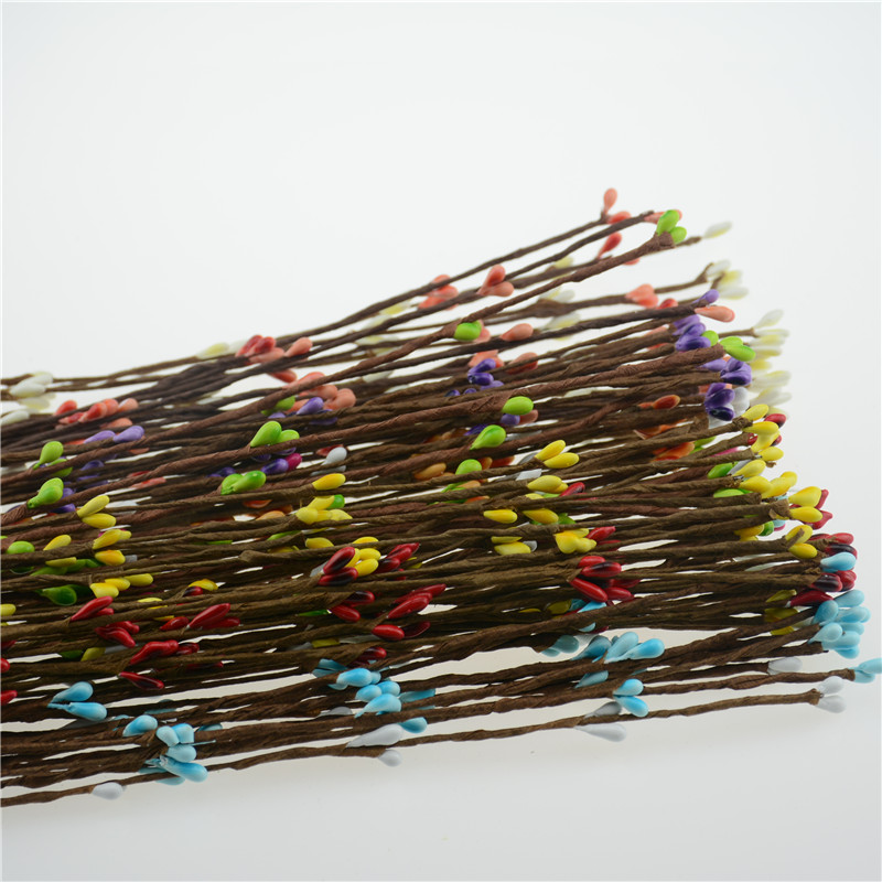 New 10PCS High Quality Artificial Wreath Flower Small Berry Rattan pip berry garland for DIY party wedding banquet decoration(China (Mainland))