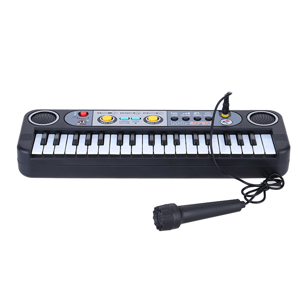 37 Keys Multifunctional Mini Electronic Keyboard Music Toy with Microphone Educational Electone Gift for Children Beginners(China (Mainland))