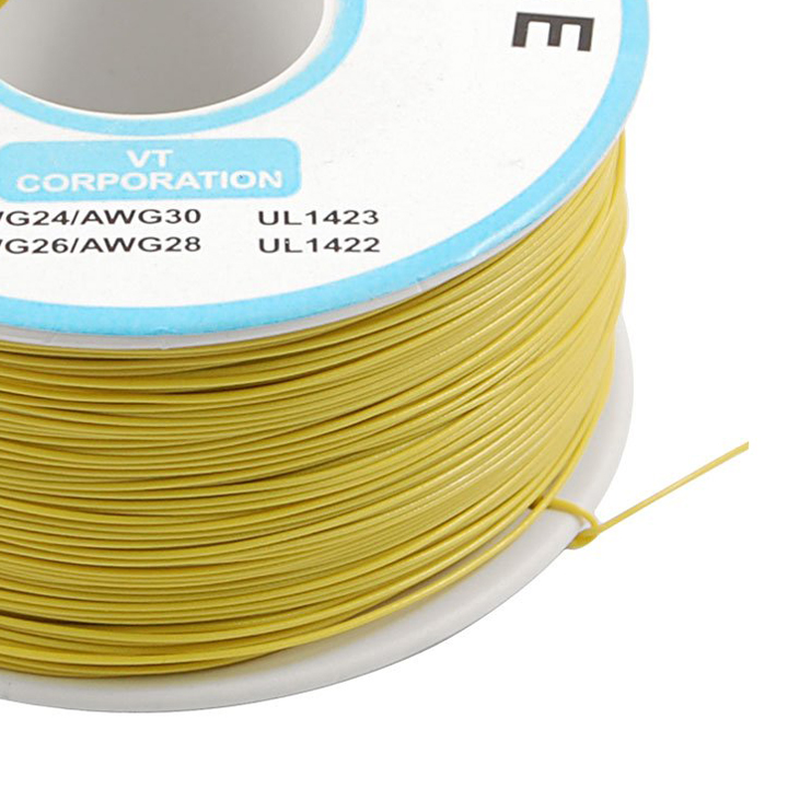 WSFS Wholesale PVC Coated Tin Plated Copper Wrapping Wire Wrap 305M 30AWG Cable Reel<br><br>Aliexpress