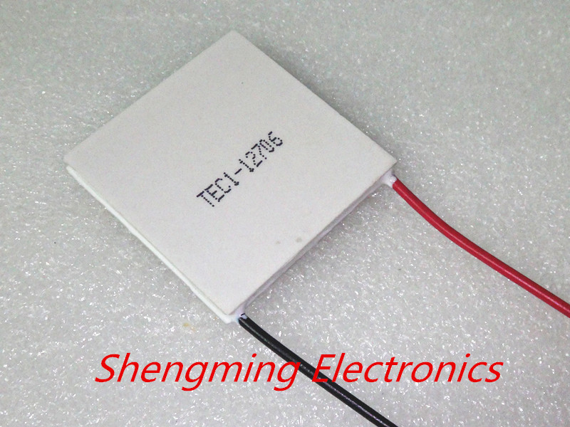 Free shipping TEC1 12706 12v 6A TEC Thermoelectric Cooler Peltier (TEC1-12706)(China (Mainland))