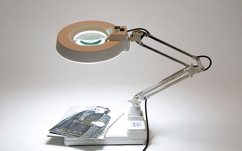 5X, 10X, 20X LT-86C 3 Очка Регулируемый Стол Тип Лупа Лампы, Длинная рука свет Вкл/Выкл пластиковые лупа лупа со светодиодной подсветкой