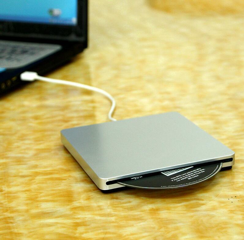 Slot in External USB 2 0 CD RW DVD RW Drive Writer Burner For Laptop For