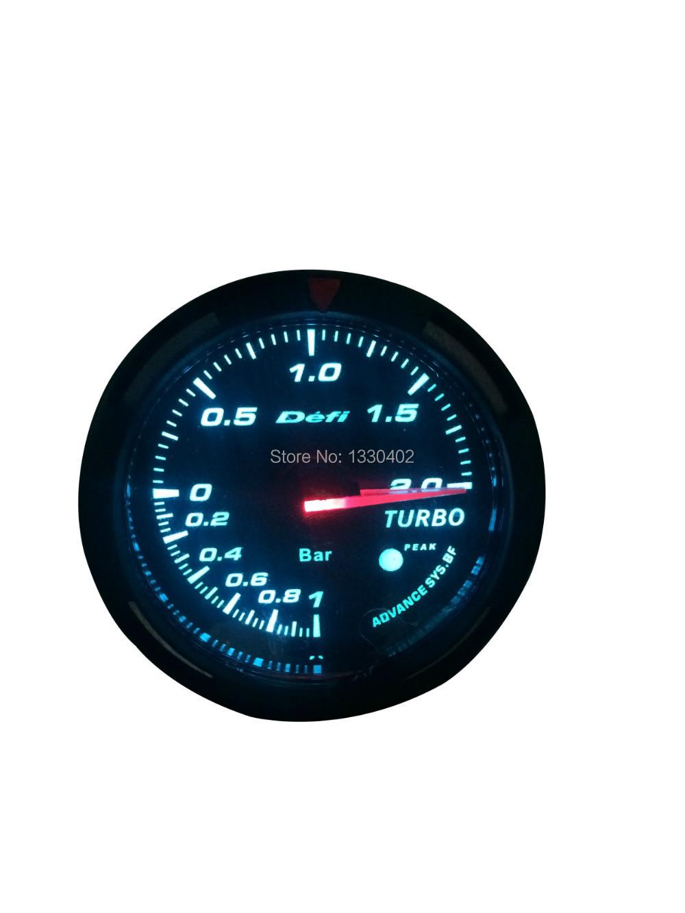 2 5 defi advanced bf oil temp gauge auto gauge 60mm turbo tachometer volt water temp oil press. Black Bedroom Furniture Sets. Home Design Ideas
