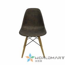 Eames chair Elegant outdoor furniture rattan leisure chair 2 chairs dining chair(China (Mainland))