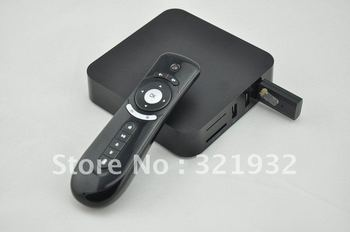 2.4G Air/Fly Mouse Bundle Kit, Android 4.0 TV Box,XBMC Midnight Preinstall, ARM Cortex A9,WiFi,HD, Flash, 3D, Free Shipping