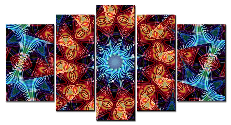 Achetez en gros psychedelic painting en ligne des for Piece 3d en ligne