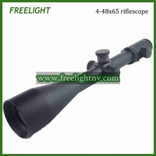 4-48×65 High variable power riflescope long range target shooting optical weapon scope Side focus riflescope DHL free shipping