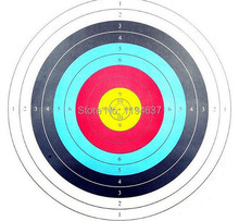 New target face paper 60*60cm 10 pcs shooting practise archery bow arrow outdoor sport hunt shoot