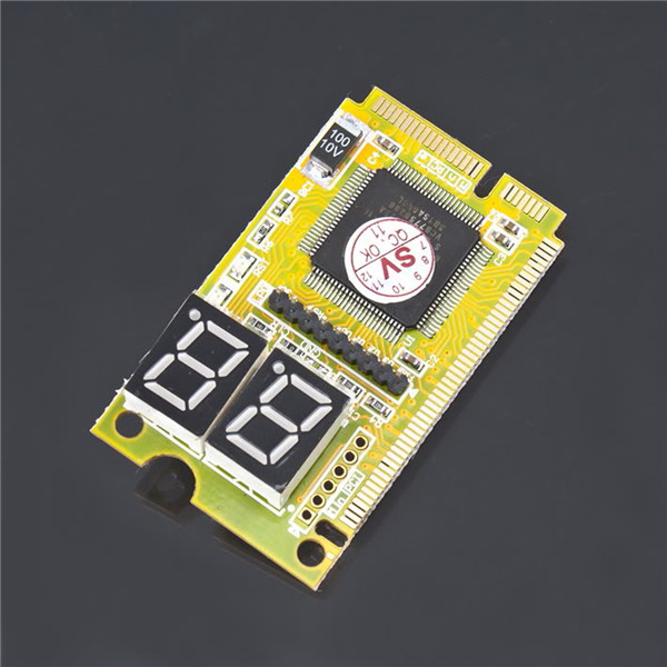 1pc 3 in 1 Mini PCI-E LPC PC Analyzer Tester POST Card Test For Notebook Laptop Newest(China (Mainland))