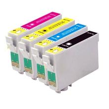 4 Compatible T1285 XL ink cartridge FOR EPSON STYLUS SX130 SX-130 SX 130  Printer