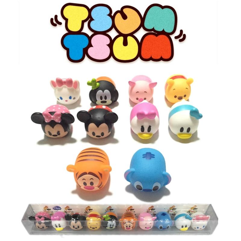 10 Unids Lote 3 Cm Tsum Tsum Expresado De Juguete De