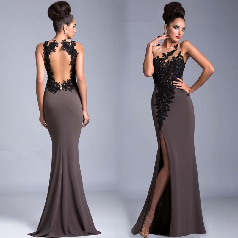 Modelos de vestidos elegantes para fiesta