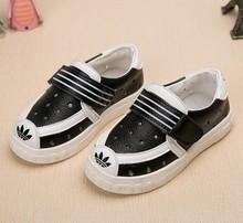 The NEW 2016 Children Shoesbaby Boys Sports Girls  Boys sneakers Flats Kids sneakers kids Shoes sneakers for girls(China (Mainland))