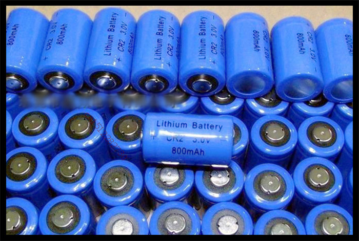 4 PCS/lot CR2 3V 800mah lithium battery CR15H270 CR15266 CR - 2 w/C1B Camera, patrolling pen, alarm system Free Shipping(China (Mainland))
