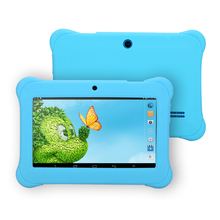 """iRULU Y1 7"""" BabyPad For Kids Education Quad Core Android Tablet PC for Children 0.3MP RAM 1GB ROM 8GB Silicone Case Gift Hot(China (Mainland))"""