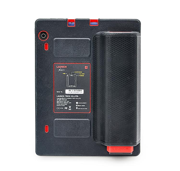 Новое поступление оригинальный launch-x431 в плюс WiFi Bluetooth планшет полный система диагностический сканер launch-x431 в + мини-wifi принтер для подарка